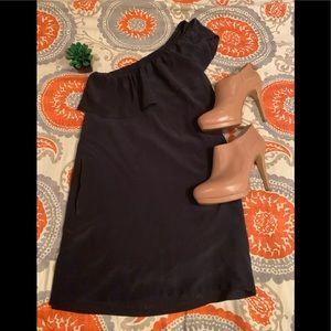 Madewell one shoulder dress sz 0